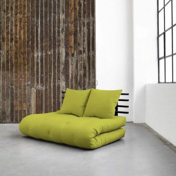 Умный зеленый диван