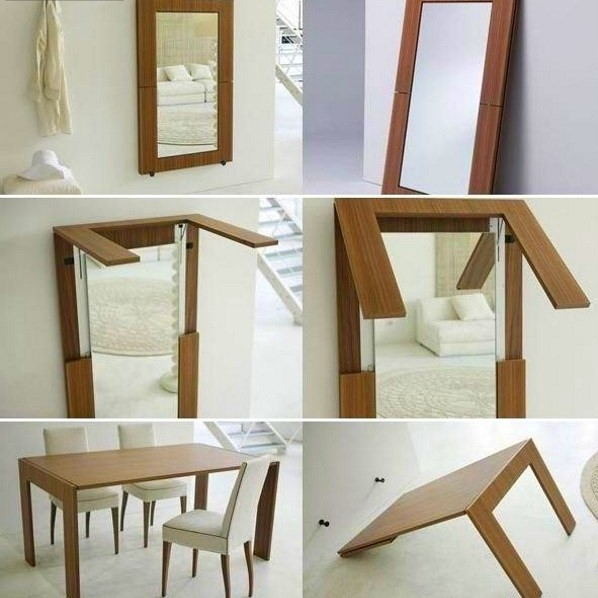 Стол-зеркало