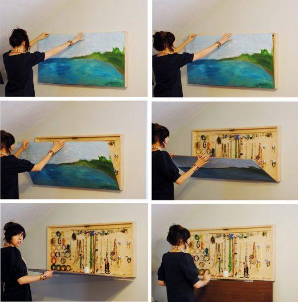 Картина-шкаф