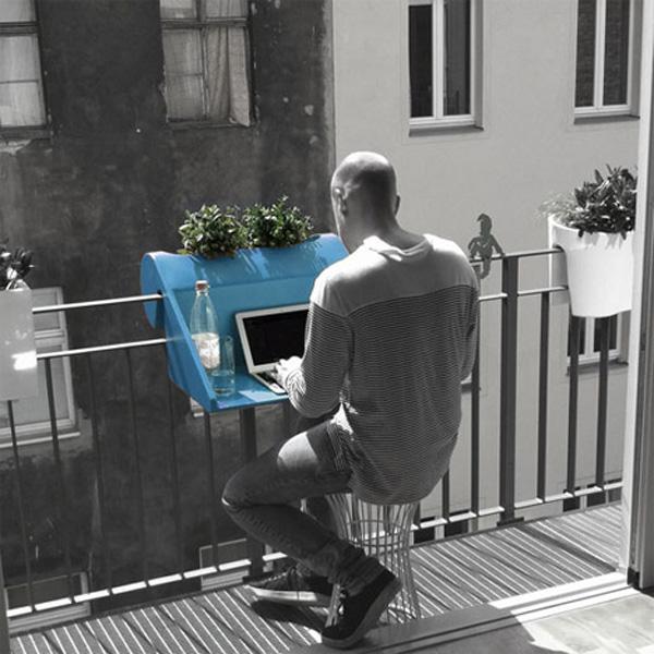 Столешница на балконе