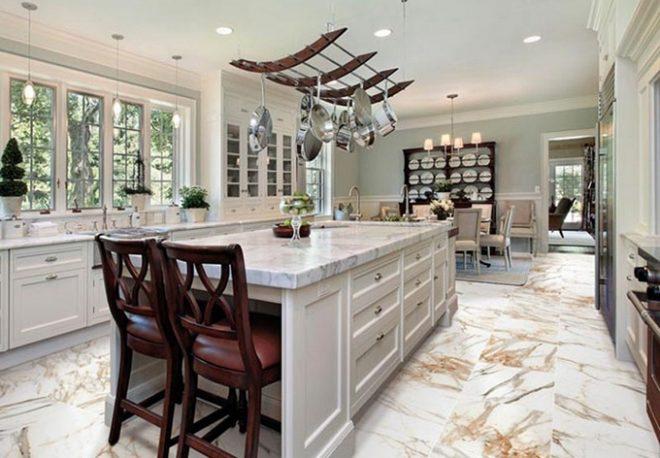 Напольное покрытие для кухни: тонкости выбора