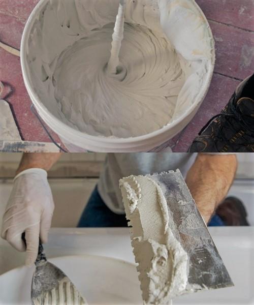Приготовление смеси короед