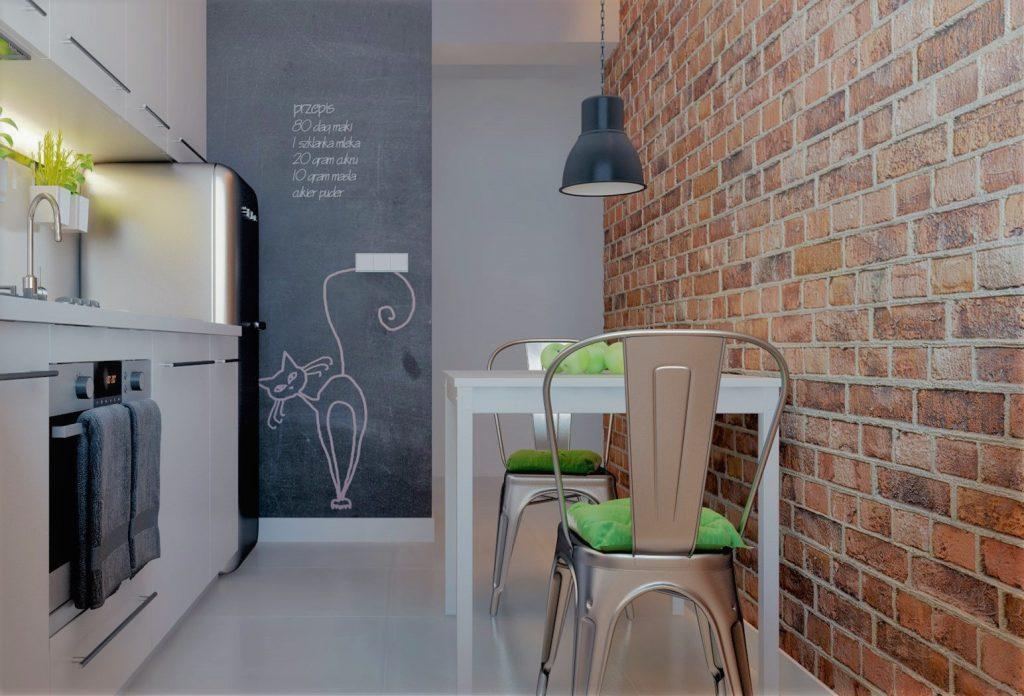Какие современные обои подойдут для маленькой кухни