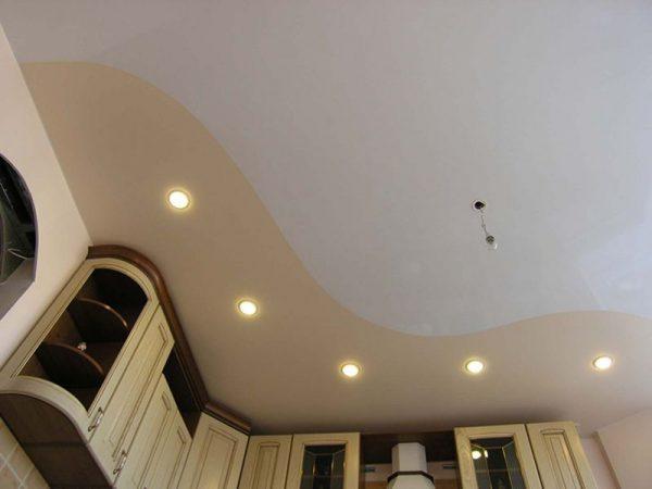 Потолок природных тонов