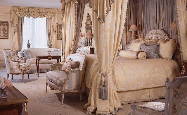 Традиционная спальня