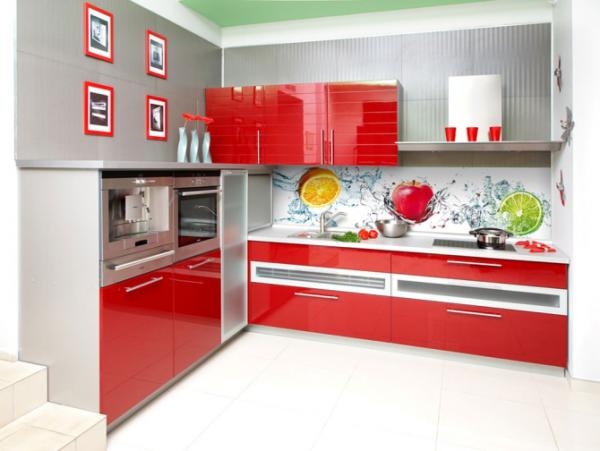 Сочные краски на кухне