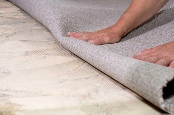 Как стелить ковролин своими руками: инструкция с фото и видео