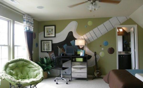 Интерьер современной детской комнаты для мальчика