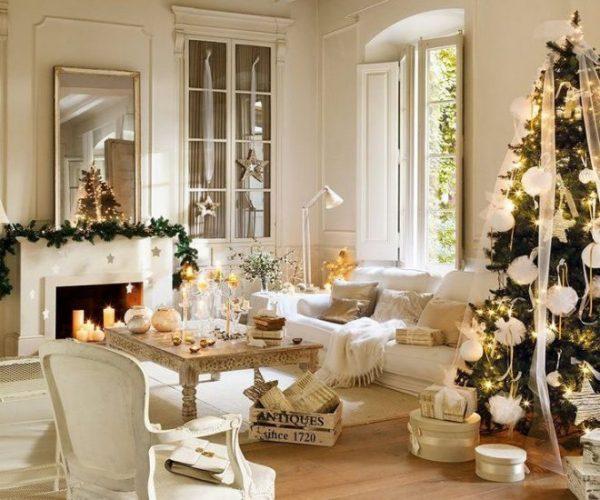 Как красиво украсить комнату на Новый 2018 Год своими руками