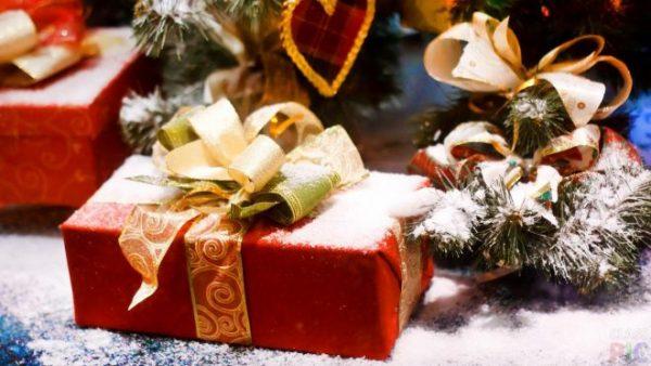 Подарок на снегу
