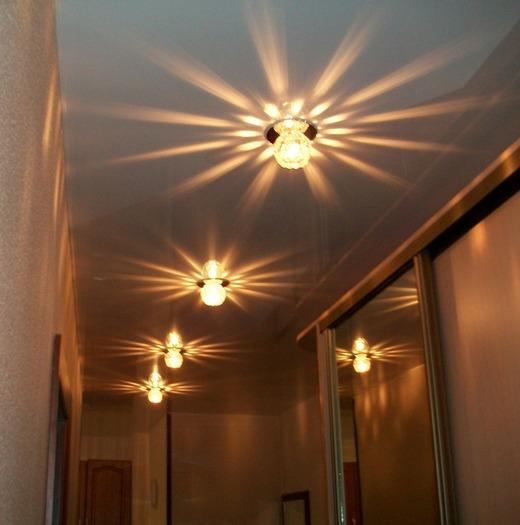 Подбор светильника для натяжного потолка