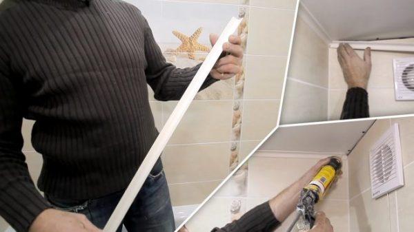 Что делать раньше: клеить обои или натяжной потолок?