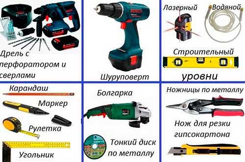 Инструменты для ниши