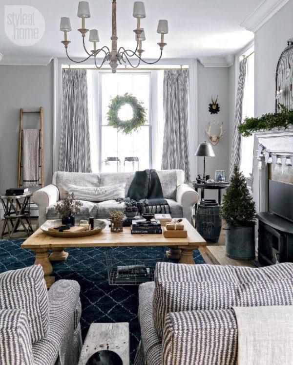 Оформление комнаты к новому году