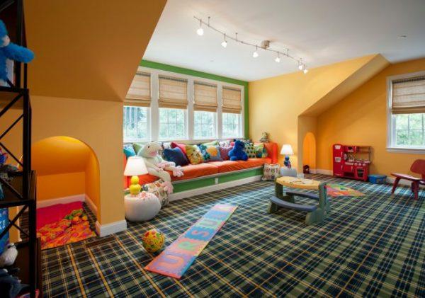 Современный дизайн коврового покрытия