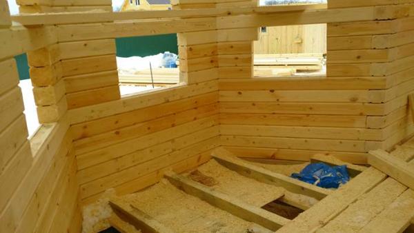 Утепление деревянного пола в доме своими руками