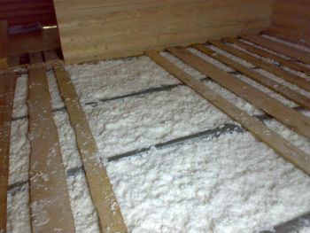 Как утеплить пол в деревянном доме