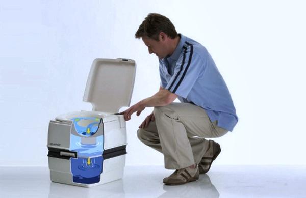Устанавливаем биотуалет для дачи без запаха и откачки своими руками