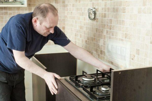 Выбор места для плиты