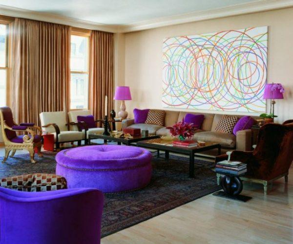 Дизайн гостиной комнаты — новинки, идеи, фото 2018 года