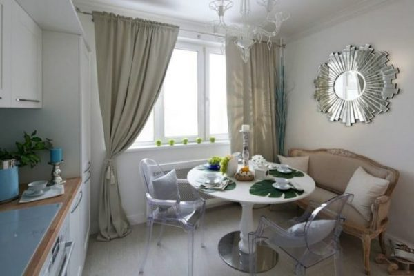 Современный дизайн интерьера кухни на 9 кв метров