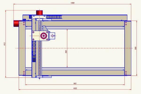 Схема станка 3