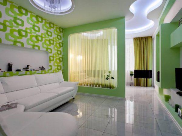 Свежий зеленый