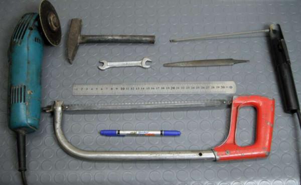 Инструменты для изготовления струбцины