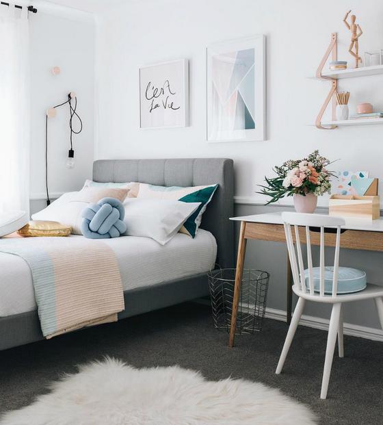 Выбор мебели в комнату девушки-подростка