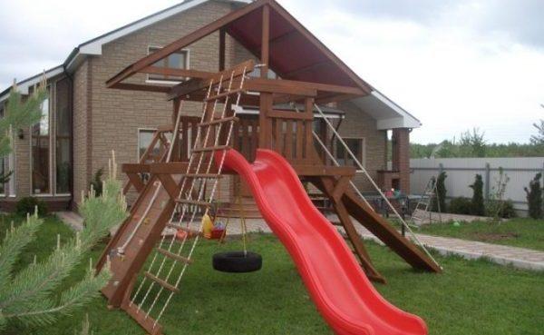 Как сделать детскую площадку самостоятельно