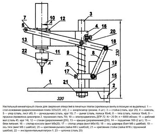 Изготовление сверлильного станка из рулевой рейки