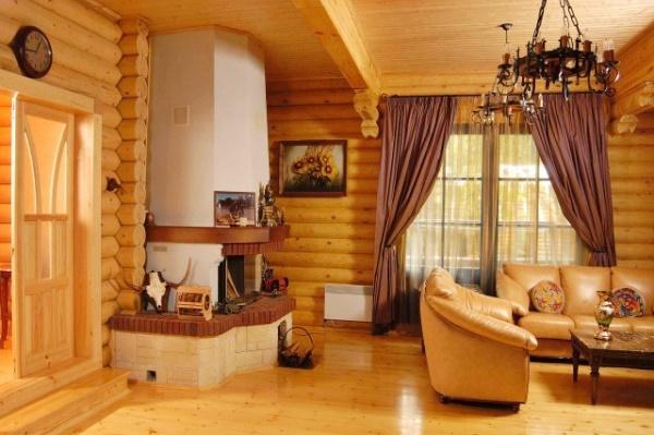 Как сделать внутреннюю отделку деревянного дома