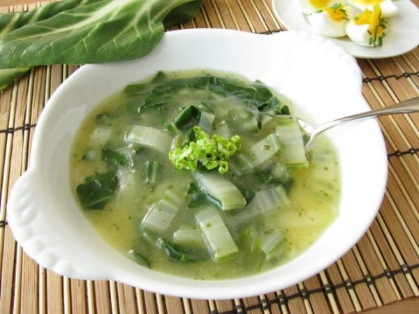 Овощной суп с сельдереем