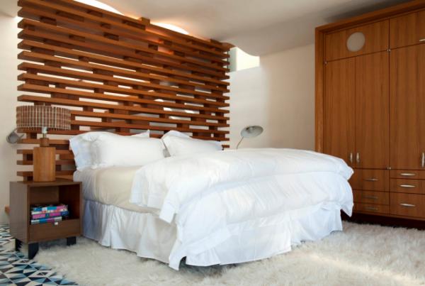 Зонирование пространства в комнате с помощью перегородок