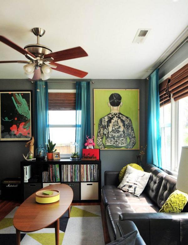 Дизайн гипсокартонного потолка в зале: фото интересных идей