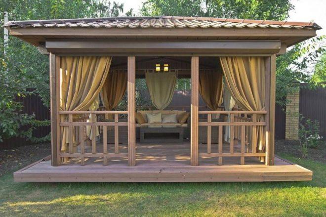Обустройство зоны отдыха в частном доме