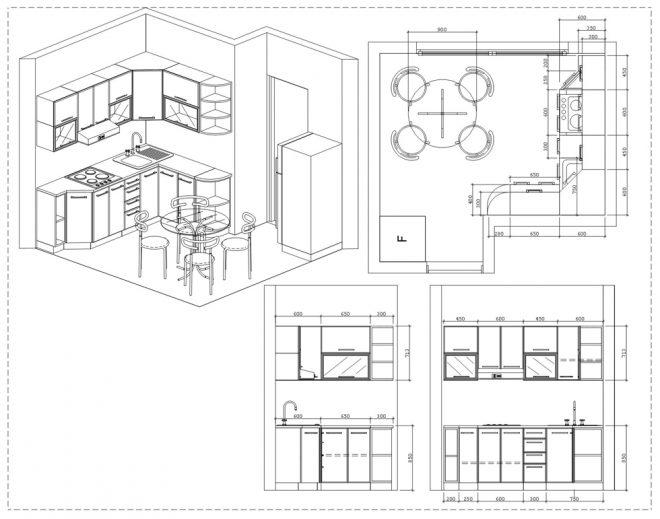 Ремонт кухни 10 кв.м своими руками