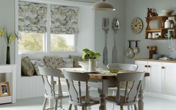 Практичные кухонные ролл-шторы