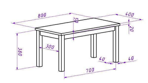 Как сделать журнальный столик из дерева самостоятельно