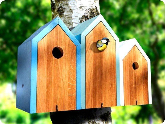 Делаем скворечник для птиц