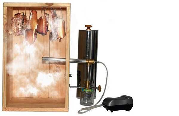 Как сделать дымогенератор для холодного копчения своими руками