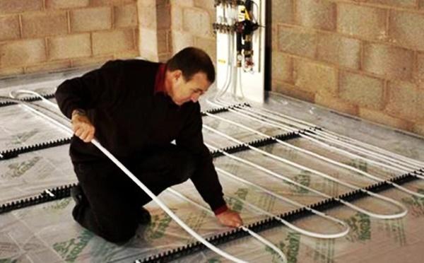 Как сделать теплый пол водяной от газового котла