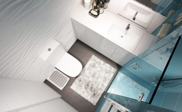 Туалет сверху