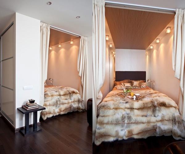 Ниша с кроватью