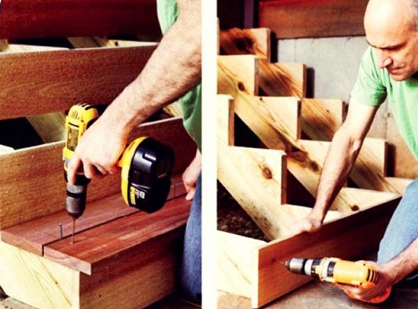 Как сделать крыльцо для дачи своими руками