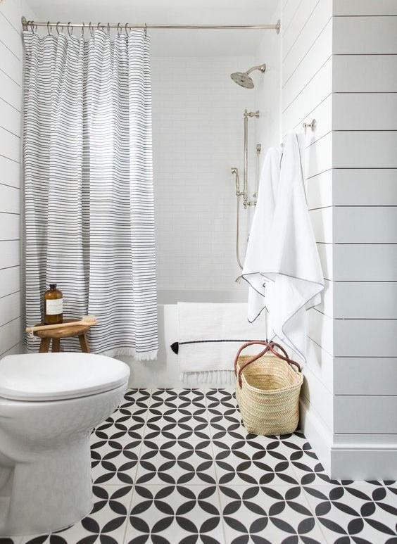 Кафель для ванной: идеи дизайна с фото