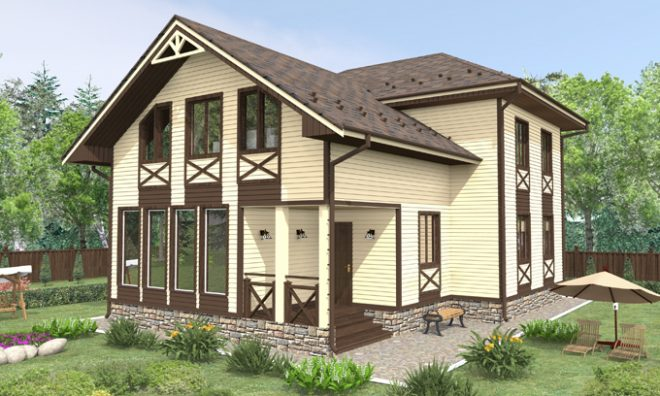 Выбор материалов для облицовки фасада дома