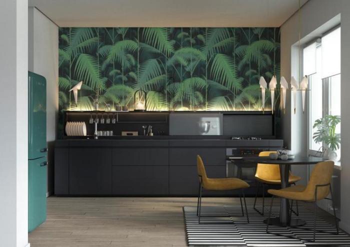 Главные тренды и новинки дизайна кухни на 9 кв. м в 2018 году