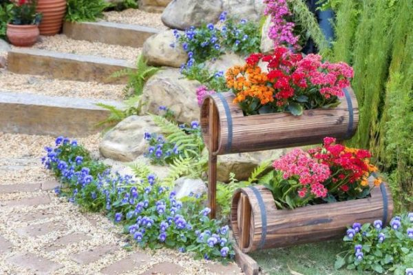 Украшения для дачи и сада своими руками: лучше идеи и новинки