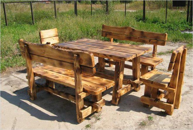 Дачный столик своими руками: доступные варианты конструкций и пошаговое изготовление